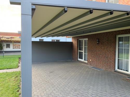 Multifunktionales Terrassendach in Versmold